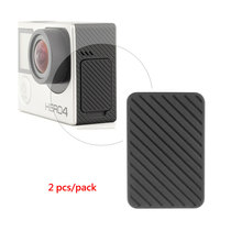2pcs/lot USB Side Door Cover Replacement for GoPro Hero 4 3+ 3 Camera Black & Silver Edition