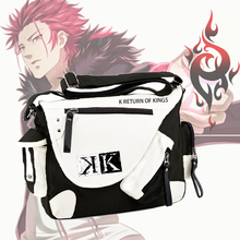 New Japan Anime K Project Cosplay Shoulder Bag Messenger Bag Suoh Mikoto Mutifunctional Students Book Shoulder Package 3 style(China)