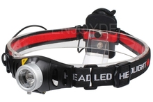 Hot 2000 lumens Adjustable Focus CREE Q5 LED Headlamp Head Light Torch For AAA Battery