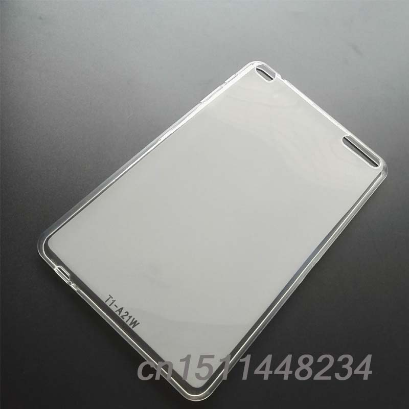 fashion slim Transparent frosted TPU silicone Case For Huawei Mediapad T1 10 T1-A21w T1-A21L T1-A23L 9.6 cover, tablet pc stand<br><br>Aliexpress