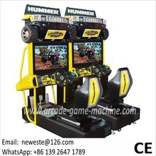 Guangzhou NYST 32 inch Hummer Coin Operated Video Simulator Driving Car Racing Arcade Game Machine(China)