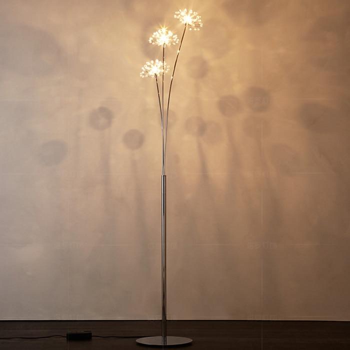 Online cheap new modern crystal floor lamp for living room flower getsubject aeproducttsubject aloadofball Gallery