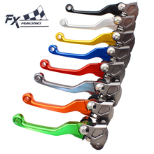 Fx Cnc Aluminum Motocross Dirt Pit Bike Brake Clutch Lever For Kawasaki KX125 KX250 KX 125 250 2000 - 2004 2001 2002 2003(China)