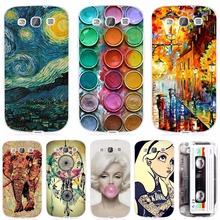 Fashion Cool Design Phone Case For Samsung Galaxy S3 I9300 Soft Silicone TPU Cover Cases For Galaxy S3 I9300(China)