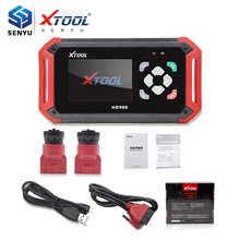 Xtool HD900 Heavy Duty OBD Diagnostic Tool HD 900 Eobd2 OBD2 CAN BUS Code Reader same as Xtool PS201 Diesel OBD2 Scanner