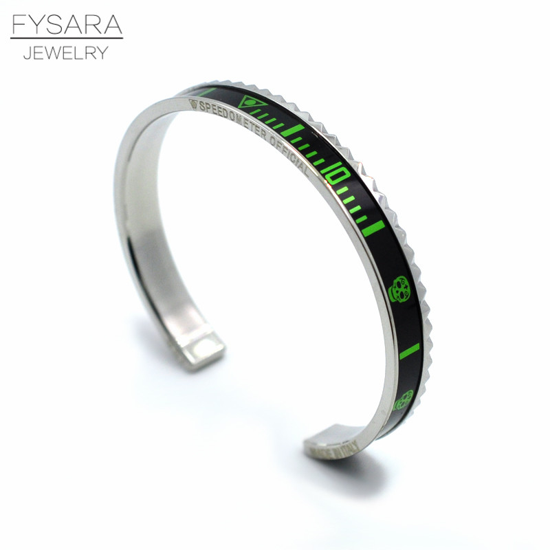 Speedometer Stainless Steel Fashion Bracelets 13