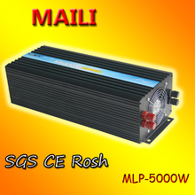 DC AC Power Invertor 5000W/5KW 12V 220V Pure Sine Wave investors