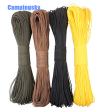 15 Meters Dia. 2mm one stand Cores Paracord for  Cord Lanyard Camping outdoor Climbing Camping Rope Hiking Clothesline