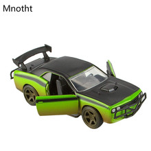 Mnotht 1:32 Dodge 2008 Challenger SRT8 Diecast Car Model Toys Speed Al Alloy Car Collection Sliding Toy Car Diecast Toys L50