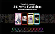 Anti-Knock Luminous bracelet Silicon case for Highscreen boost 2 SE  case Night Lights hand ring bumper cover