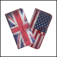 Phone Wallet For iPhone 5S Mobile Bag UK USA PU Leather Protective Shell For iPhone SE Cases Cover Fundas Coque Mobile Phone Bag
