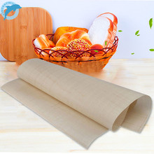 LINSBAYWU Reusable Fiberglass Cloth Non-Stick Mat Multifunctional BBQ Mat Nonstick Baking Sheet 60*40cm UK/DE Warehouse
