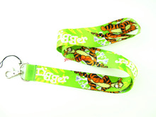 Wholesale 10 Pcs popular cartoon tigger Neck Straps Lanyards Mobile Phone,ID Card,Key Condole belt Mixed L171