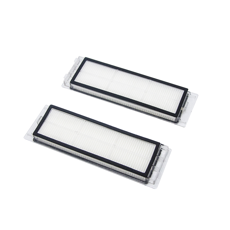 2pcs Washable Hepa Filter For Xiaomi mi 1nd 2nd Roborock sweeping robot home Vacuum Cleaner Parts Replacement Filters(China)