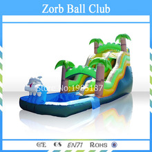 free shipping top quality giant inflatable water slideinflatable water slide clearance inflatable pool slide for adult
