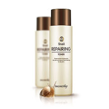 SECRET KEY New Snail Repairing Toner 150ml Dry Skin Moisturizer(China)