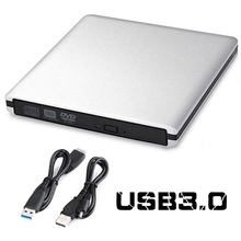 Ultra Slim External USB 3.0 High Speed CD-RW DVD-RW Super Drive Player Writer Burner for HP ASUS DELL Samsung Lenovo , PC Laptop(China)