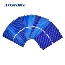 Aoshike 100pcs Mnin 39*19MM solar panel for DIY solar cell DIY cell phone charging(China)