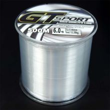 500M Nylon Line Mono Clear Super Strong GT Sport Sea Fishing Line From Japan