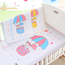 105*70CM Baby Printed Cartoon Home Waterproof Urine Matelas Infant Covers Bedding Nappy Burp Ecological Cotton Changing Pads