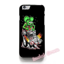 RAT FINK HOT ROAD BIG DADDY cell Phone Case Cover For iPhone 4S 5 5S SE 5C 6 6S Plus 7 7Plus Samsung Galaxy S5 S6 S7 edge shell