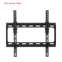 "General Ultra Slim Plasma Tilted Fixed Monitor LCD LED HD TV Stand Wall Mount Bracket Fit for 26""-65"", Max Support 30KG Weight(China)"