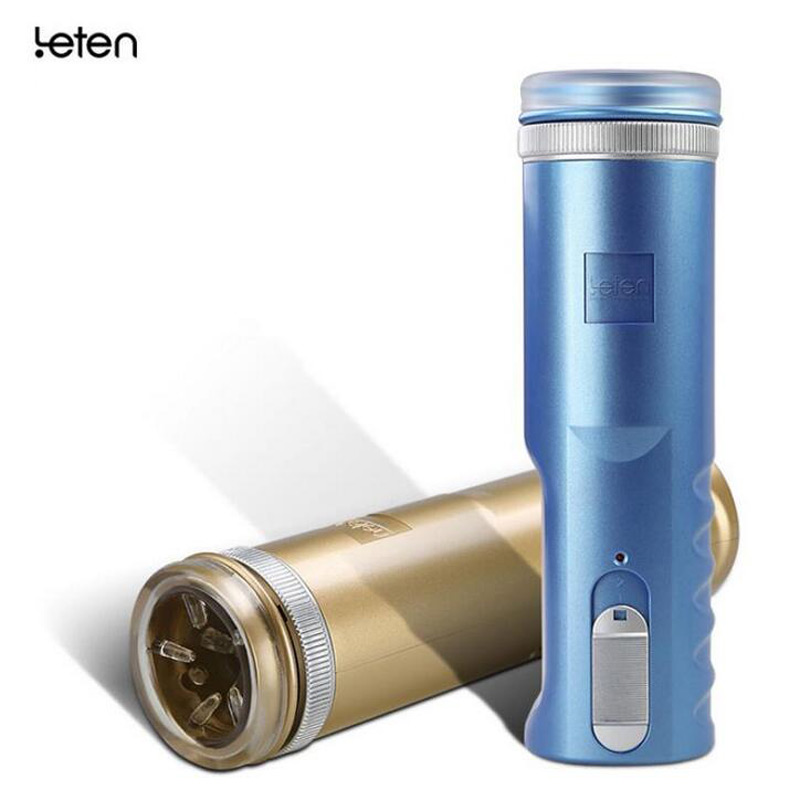 Leten New Electric Automatic Retractable Male Masturbator Cup,Artificial Vagina,Sex Products Toys Sex Machine For Man,Real Pussy<br>