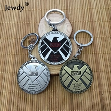 Buy Marvel Avengers Aegis Bureau Key Chain Agents Shield Keychain Pendant Charms Movie Series Keyring Jewelry Accessories for $1.51 in AliExpress store