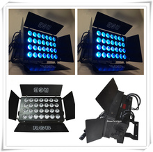 20 pcs dmx rgb led uplights 28x3W ip20 indoor par light led wash effect stage lighting decrotation(China)