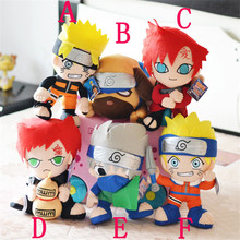 "12"" Naruto Uzumaki Naruto & Hatake Kakashi & Gaara & Pakkun Dog Soft Stuffed Toys Plush Doll Gift For Children"