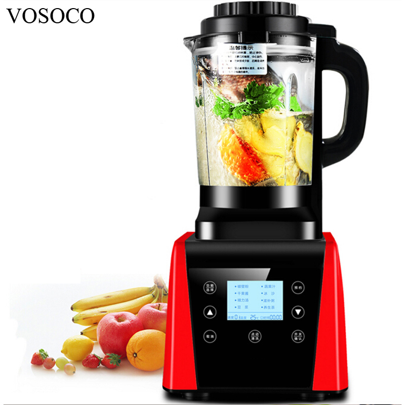 vosoco blender mixing machine ice crusher touch sand ice machine 1800w milkshake soybean milk juicer heating - Milkshake Machine