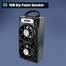 Redmaine Brand Speaker MS - 161BT 10W 600mAh Portable Wireless Bluetooth Speaker Sound Box Support FM Radio AUX TF/Micro SD Card(China)