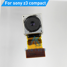 Buy Original Rear Main Camera Sony z3 compact m55w Big Camera Flex Cable Back Camera Replacement Parts Refubishment for $20.50 in AliExpress store