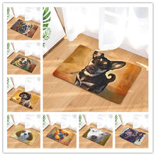 Welcome mats Oil Dog carpet  bathroom kitchen carpet home sitting room carpet carpet Antideslizante 40x60cm 50x80cm