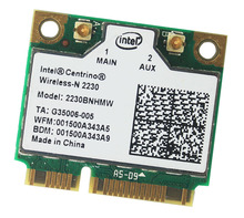 Intel Centrino Wireless-N 2230 Bluetooth 4.0 WIFI 300Mbps 2230BNHMW Half mini PCIe adapter(China)