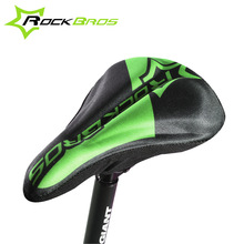 RockBros Wide Bicycle Seat Cover Gel Pad Bicycle Saddle Cover Mtb Road Racing Bike Saddles For Men Front Seat Mat Seat Cover