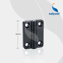 SP209-2 Matt Black Finished Zinc Alloy Small Hinge for Box /5.6KN Tensile Strength Industrial Cabient Hinge (5pcs/lot)(China)