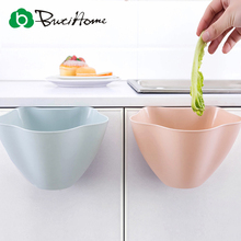 Butihome Creative Storage Box Kitchen Multi-color Hanging Trash Cans Living Room No Cover Plastic Storage Box Debris Basket(China)