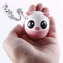 Bluetooth Wireless Speaker Cute Animal panda dog Sound Speaker Portable Clear Voice Audio Player with TF Card USB for Mobile PC