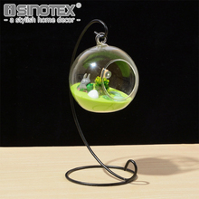 DIY Planting Hydroponic Plant Flower Container Hanging Glass Vase Home Garden Decor Terrarium Home Desk Decoration 8 Sizes
