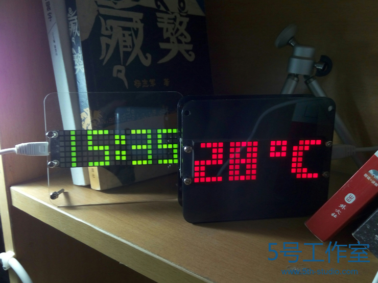 Creative 51 single chip microcomputer DIY electronic design and production kit DS3231 high precision LED digital clock<br>