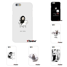 For Samsung Galaxy A3 A5 A7 J1 J2 J3 J5 J7 2015 2016 2017 Funny Cute jon snow game of throne Silicon Soft Phone Case