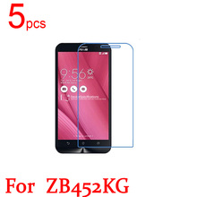 5pcs Ultra Clear LCD Screen Protector Film Cover For Asus ZenFone Go ZC500TG ZC451TG ZB551KL ZB452KG ZB450KL ZB500KG Live TV