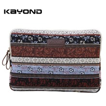 Kayond Bohemian Ethnic Laptop Sleeve Bag Carrying Case for Macbook Air Pro Retina Samsung Lenovo Notebook Sleeve Case(China)