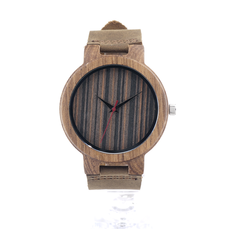BOBO BIRD C17 Mens Zebra Wood Wristwatch Mens Japan 2035 Movement Quartz Watch Wood Dial with Brown Leather Band in Gift Box<br><br>Aliexpress