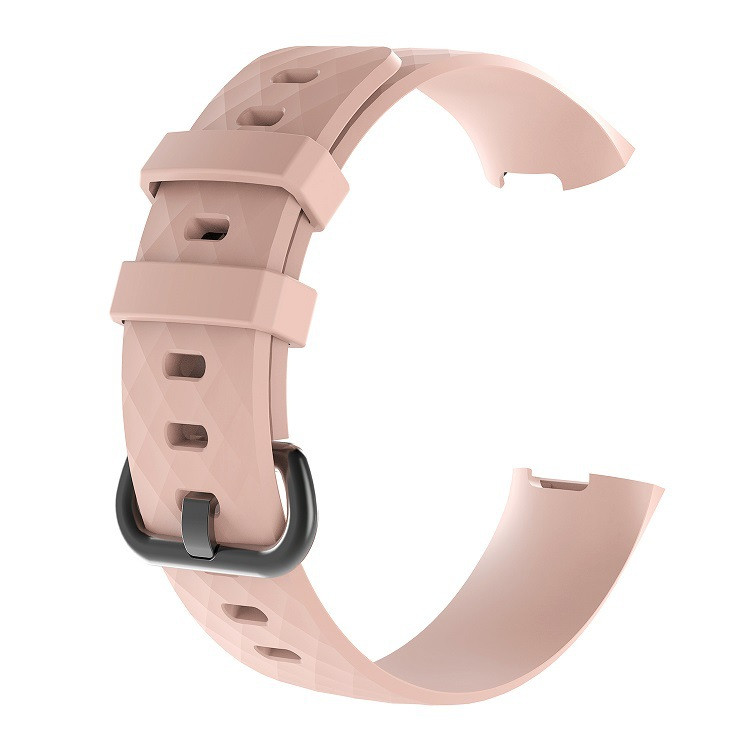 Waterproof Replacement Watch Strap for Fitbit Charge 3  Charge 3 SE Silicone Sport Band Wristband Large Small Women Men (14)