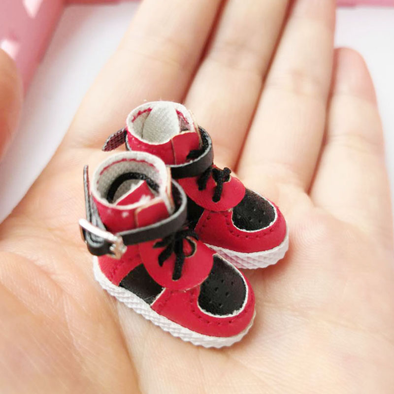 OB11 shoes high shoes with unlocked buckle for obitsu11 piccodo body 9 doll shoes dolls accesories 5 colors mini shoes for dolls