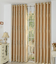 FYFUYOUFY European style simple trees printed curtain living room bedroom Upmarket Double jacquard Shading cloth curtain