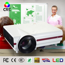 small business ideas portable smart home use screen led theater projector(China)