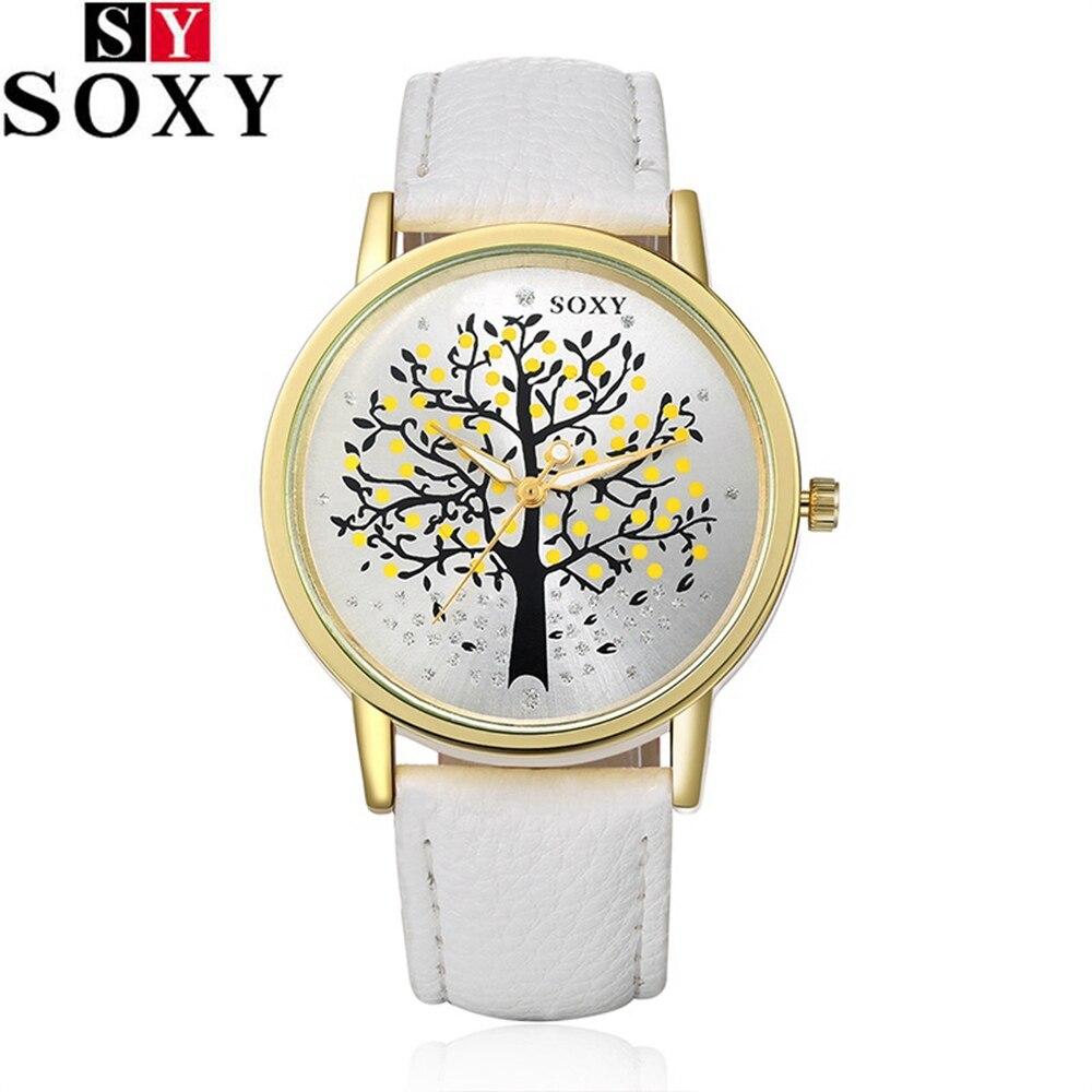 SOXY Fashion Watches Men Women Quartz Watch Female Male Wristwatches Quartz-watch Relogio Masculino Feminino Montre Femme S0010<br><br>Aliexpress